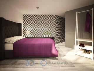 Zono Interieur Habitaciones de estilo minimalista Negro
