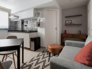 Apartamento Vila Nova Conceição, SP.: Cozinhas embutidas  por Decoradoria