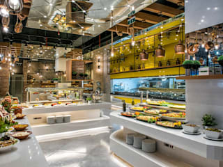 Palmiye Peyzaj Mimarlık Eclectic style gastronomy Concrete White