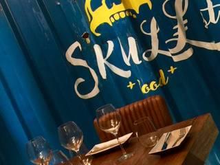 Skull St. Food Gastronomía de estilo industrial de Estudio Arinni S.L. Industrial