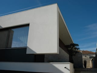 Casa em Gueifães Casas minimalistas por BLK-Porto Arquitectura Minimalista