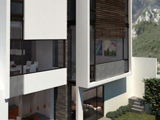 Casas minimalistas por OA arquitectura Minimalista