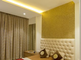 3 BHK at Borivali Modern style bedroom by A Design Studio Modern