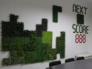 Office innovative wall design:   by Sunwing Industries Ltd
