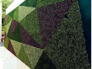 Cultural artistic green wall design:   by Sunwing Industries Ltd