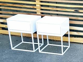 Eco Furniture Design SchlafzimmerNachttische Eisen/Stahl