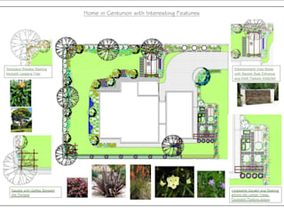 Garden with Inspiration in every corner:   by Hedgehog Landscapes,