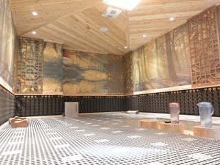 萩野空間設計 Espaços comerciais asiáticos Madeira