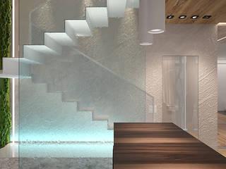 Таунхаус «ETUDE family club»: Лестницы в . Автор – Dmitriy Khanin
