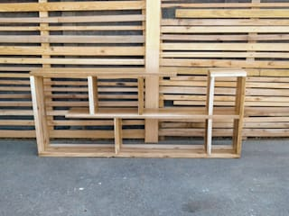 Eco Furniture Design WohnzimmerRegale Holz
