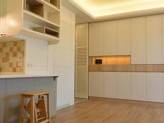Scandinavian style dining room by 萩野空間設計 Scandinavian