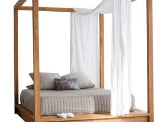 Decordesign Interiores BedroomBeds & headboards Solid Wood Brown