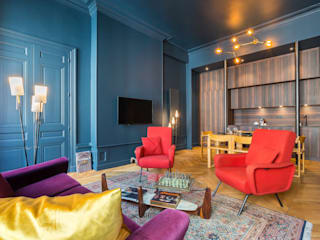 Le Blue Dream Salon colonial par Thomas Marquez Photographie Colonial