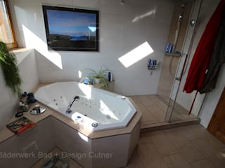 Bäderwerk Bad + Design Cutner GmbH Ванна кімната Бежевий