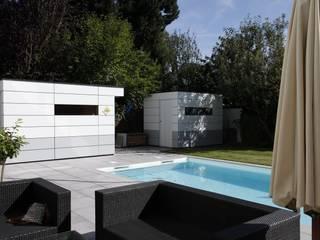 Design im Doppelpack von Gartenhauptdarsteller Modern