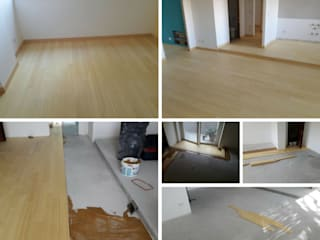 Soloparquet Srl Modern living room Bamboo