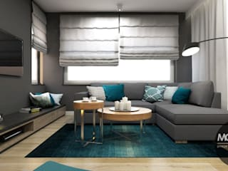 Living room by MONOstudio