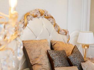 Elegantes Schlafzimmer mit Ankleidezimmer BAUR WohnFaszination GmbH Klassische Schlafzimmer Holz Weiß