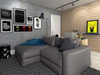 Living room by StudioCS Arquitetura, Modern