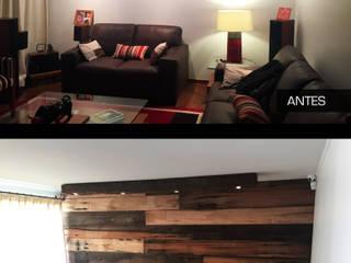 Proyecto Interiorismo casa HB Peñalolen:  de estilo  por MJO ArqDesign