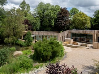 house in the garden of a listed building:  Houses by RPA Architects