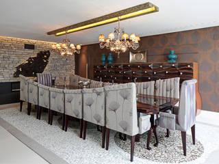 Dining room - Mjarc by João Andrade e Silva MJARC - Arquitetos Associados, lda EsszimmerStühle und Bänke