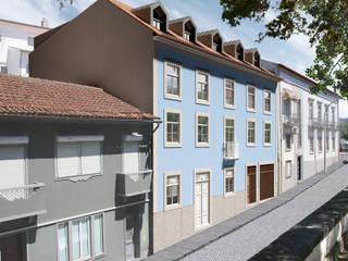 Reabilitação Rua Conselheiro Jerónimo Pimentel - Fachada: Casas clássicas por Criat Unipessoal Lda