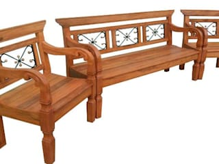 Barrocarte Balconies, verandas & terraces Furniture Solid Wood Wood effect