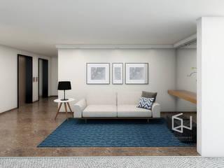 Hall Social - Ed. Itamarati Corredores, halls e escadas modernos por Studio Monfre Arquitetura Moderno