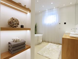 Modern Bathroom by StageBella Modern