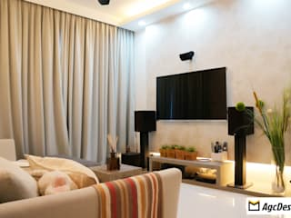 Prive EC:  Living room by AgcDesign,Scandinavian