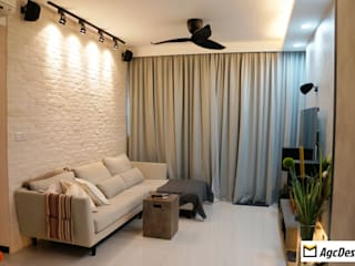 Prive EC:  Living room by AgcDesign