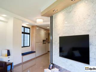 Modern Living Room by AgcDesign Modern