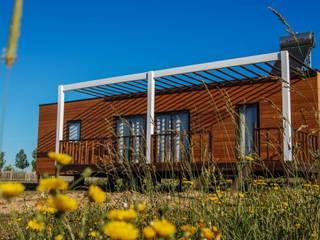 Casa Zmar - Casas modernas por JGDS-EPA - CASAS MODULARES Moderno