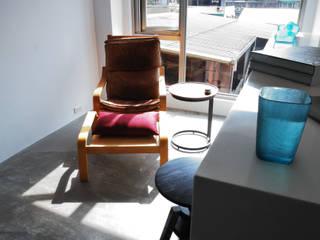 【住宅設計】和平東路 – 20坪清新居家風格:  客廳 by 大觀創境空間設計事務所,