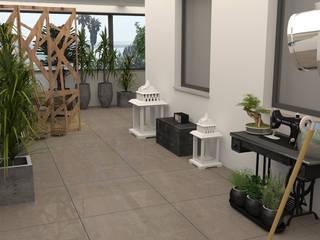 Arquitectura & Design De Interiores Paço De Arcos Jardins de Inverno modernos por No Place Like Home ® Moderno