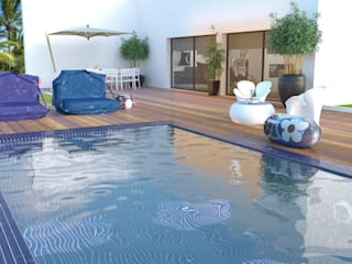 Arquitectura & Design De Interiores Paço De Arcos No Place Like Home ® Piscina