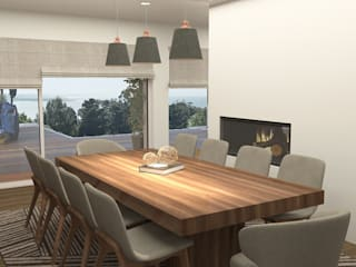 Modern dining room by No Place Like Home ® Modern