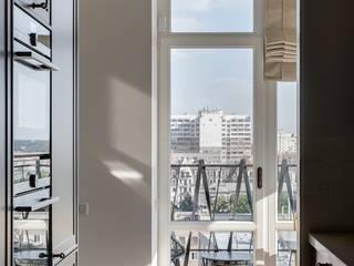 Уроки французского: Гостиная в . Автор – Архитектурное бюро Materia174