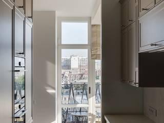 Уроки французского: Кухни в . Автор – Архитектурное бюро Materia174