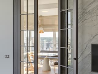 Уроки французского: Стеклянные двери в . Автор – Архитектурное бюро Materia174