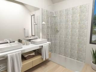 Bathroom Suite Casas de banho modernas por No Place Like Home ® Moderno