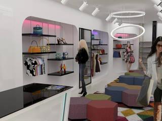 Institutional spaces Lojas e Espaços comerciais modernos por No Place Like Home ® Moderno
