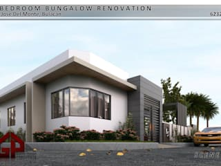 3-Bedroom Bungalow Renovation Garra + Punzal Architects Bungalows