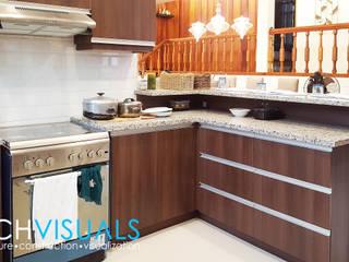 L Residence: modern Kitchen by Archvisuals Design Studio