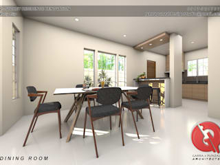Ruang Makan Klasik Oleh Garra + Punzal Architects Klasik
