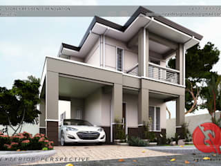 Rumah Klasik Oleh Garra + Punzal Architects Klasik