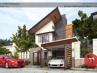 Garra + Punzal Architects 現代房屋設計點子、靈感 & 圖片