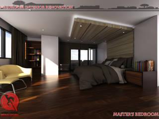 Garra + Punzal Architects Modern Bedroom