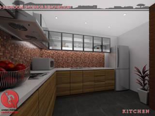 Garra + Punzal Architects Modern Kitchen